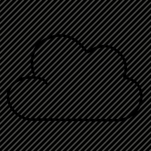 cloud, data, storage, wheather icon