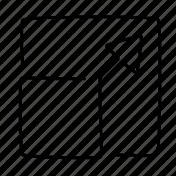 enlarge, fullscreen icon