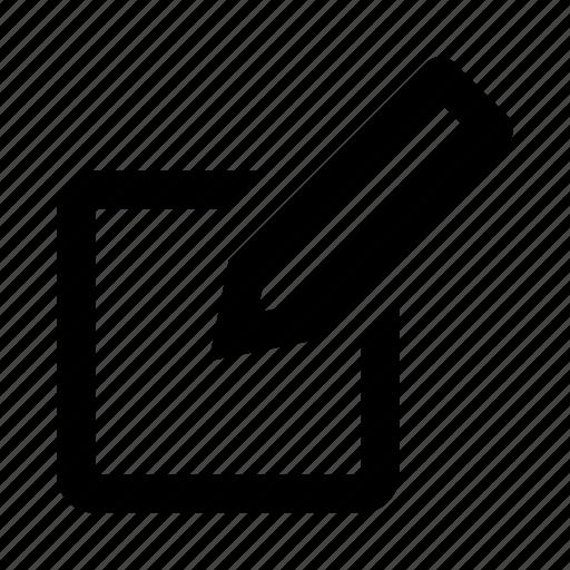 control, document, edit, mark, pen, pencil, write icon