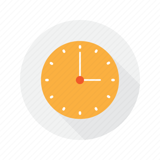 clock, interface, time icon