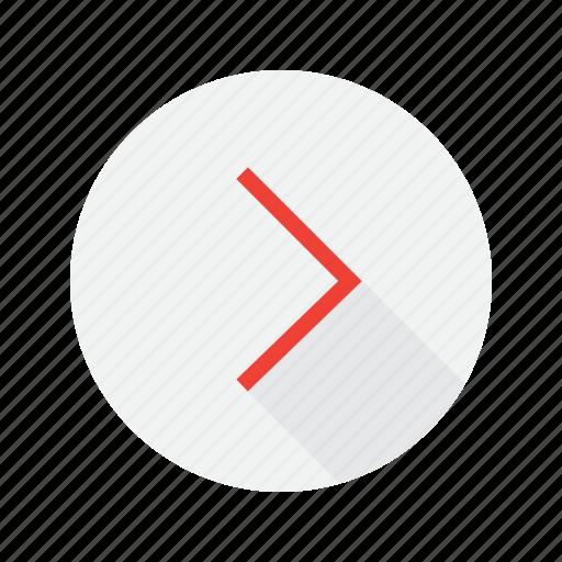 interface, next, send icon