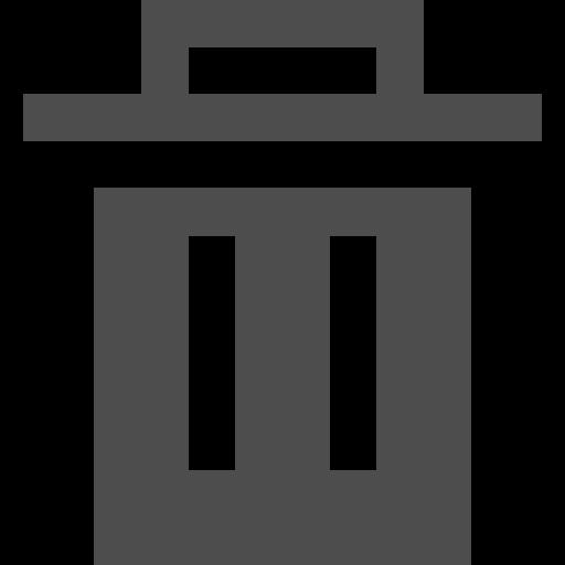delete, interface, trash, ui icon