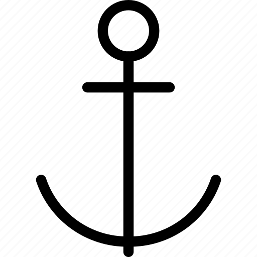 anchor, boat, cruise, marine, sea icon