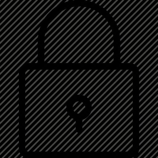 lock, password, protection, safe icon