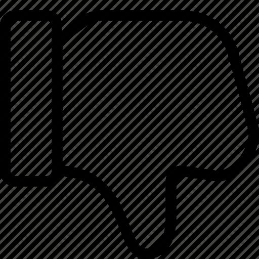 dislike, good, thumb, unlike icon