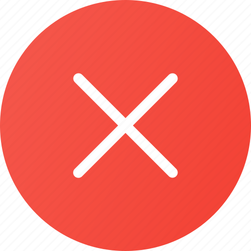 clear, close, interface icon