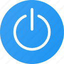 io, off, on, power, power button, switch icon