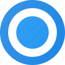 control, interface, radiobuttonon icon