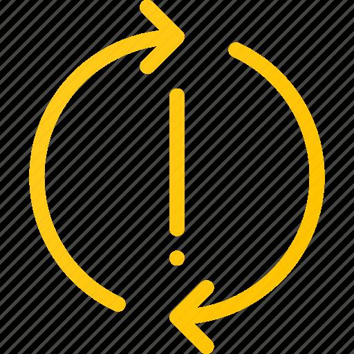 arrow, circle, error, refresh, reload, sync icon