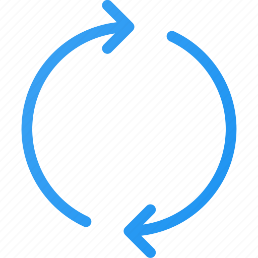 arrow, circle, refresh, reload, sync icon