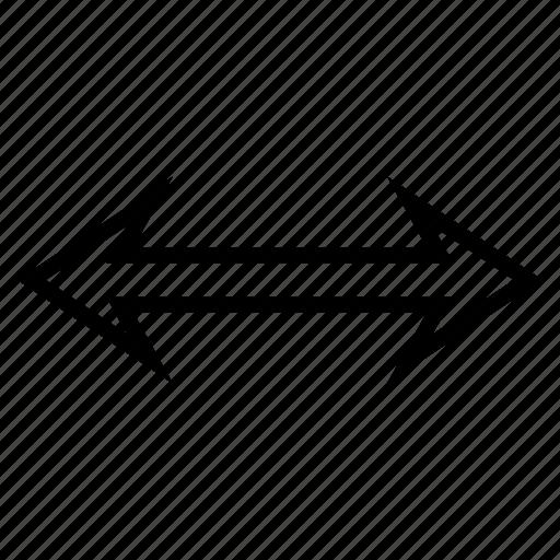 exchange, flip arrow, flipping, horizontal, replace, swap, sync icon