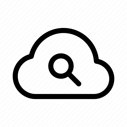 cloud, gui, network, search, transfers, web icon
