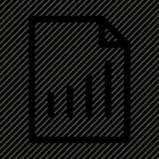 datasheet, document, file, gui, statistics, web icon