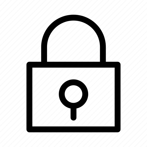 gui, lock, protect, security, web icon