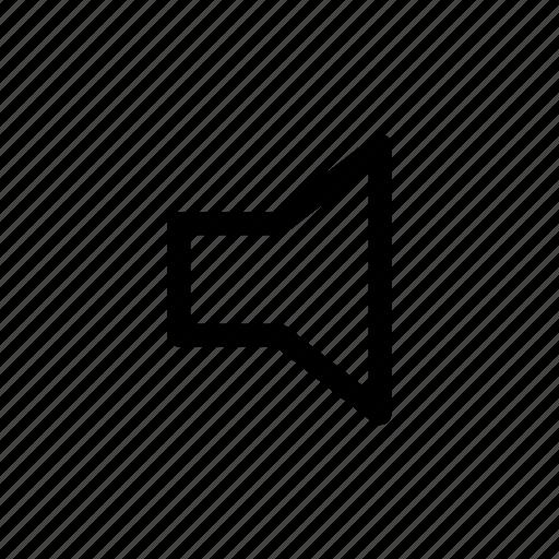 audio, gui, music, speaker, web icon