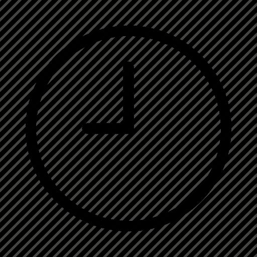 clock, gui, time, timer, web icon