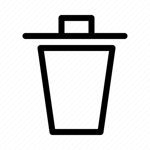 bin, erase, garbage, gui, interface, trash, web icon