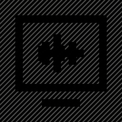 audio, gui, sounddesign, wave, web icon