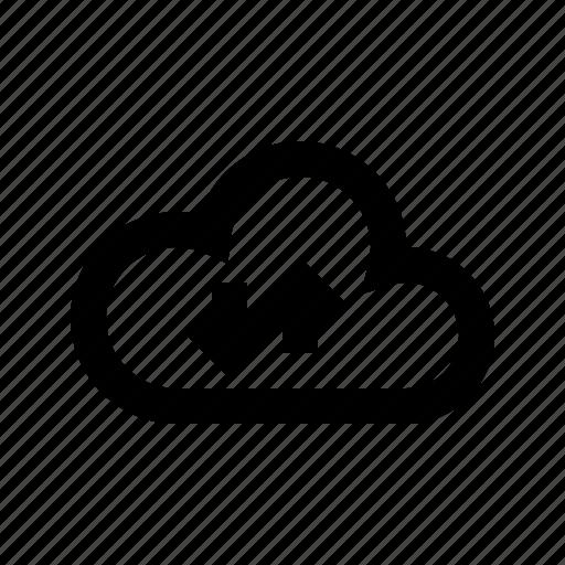 cloud, gui, network, sync, transfers, web icon