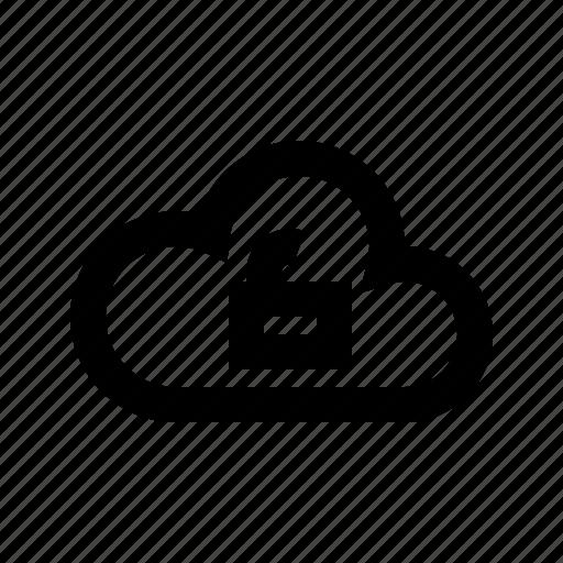 cloud, gui, network, transfers, unlock, web icon