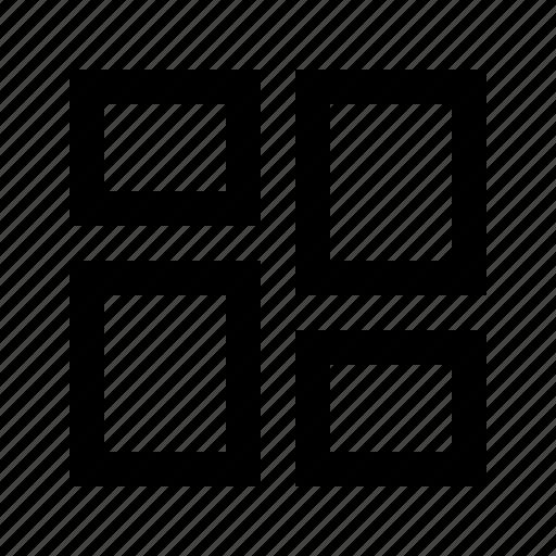 big, gallery, grid, gui, masonry, potfolio, web icon