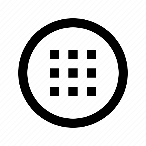 drag, grid, gui, slide, touch, web icon