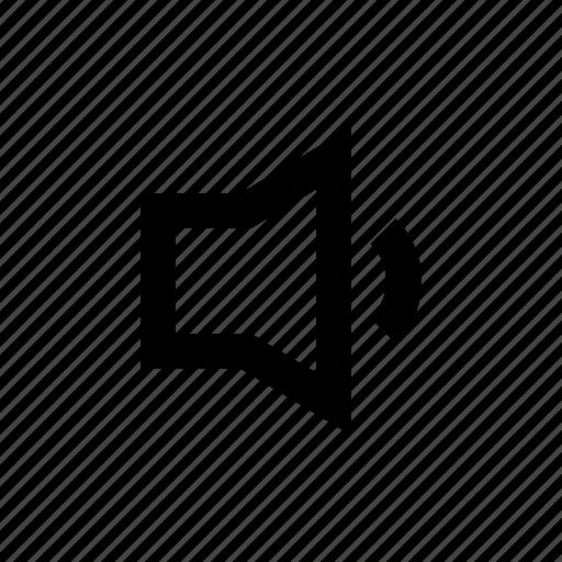audio, gui, music, silent, speaker, web icon