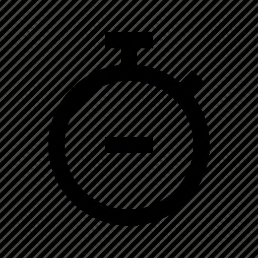 clock, gui, remove, time, timer, web icon