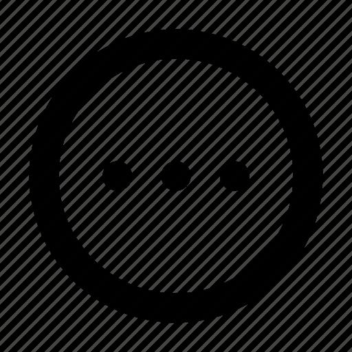 Meatball, menu, navigation, option, panel icon - Download on Iconfinder