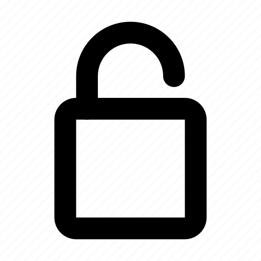 Open, padlock, safety, security, unlocked icon - Download on Iconfinder
