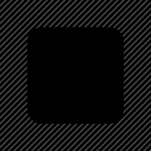 controlls, gui, media, stop, web icon