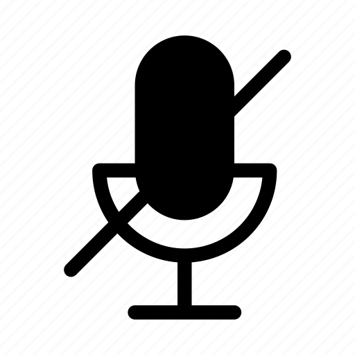 gui, microphone, off, recording, web icon