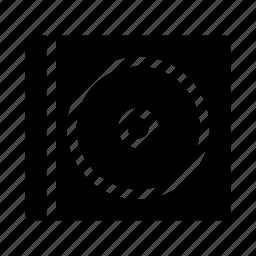 cd, disc, gui, media, music, web icon