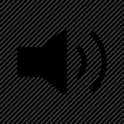 audio, gui, loud, music, speaker, web icon