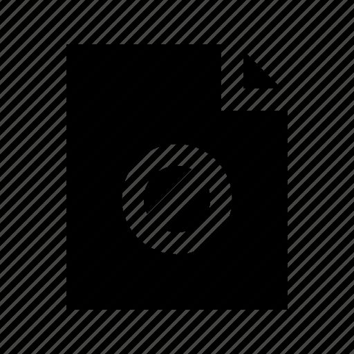 access, document, file, gui, no, web icon