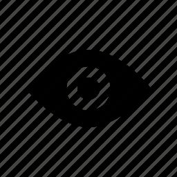 drag, eye, gui, see, show, watch, web icon