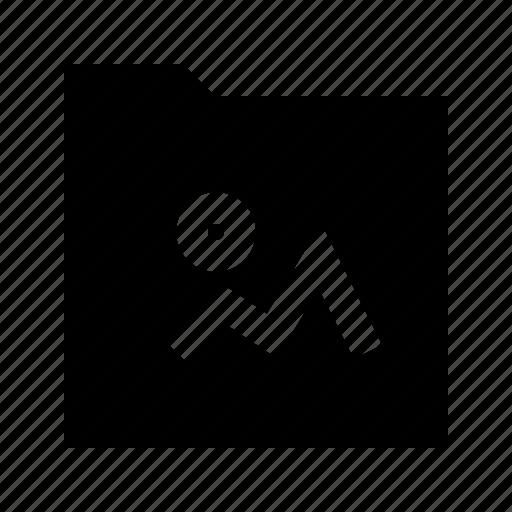 folder, gui, image, media, web icon