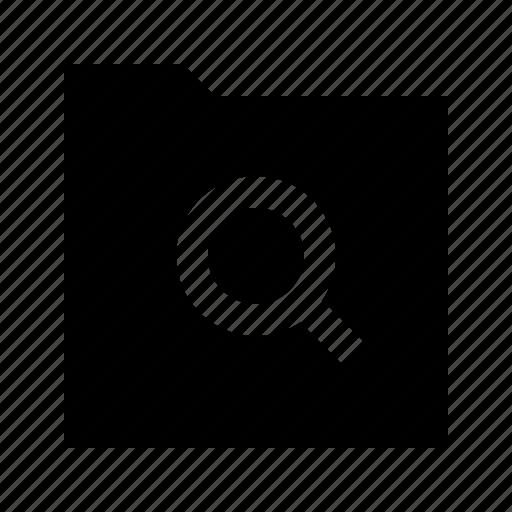 arrow, folder, gui, search, web icon