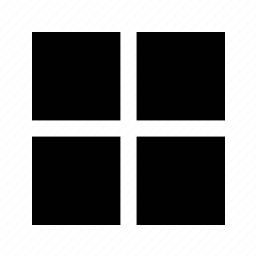 gallery, grid, gui, potfolio, web icon