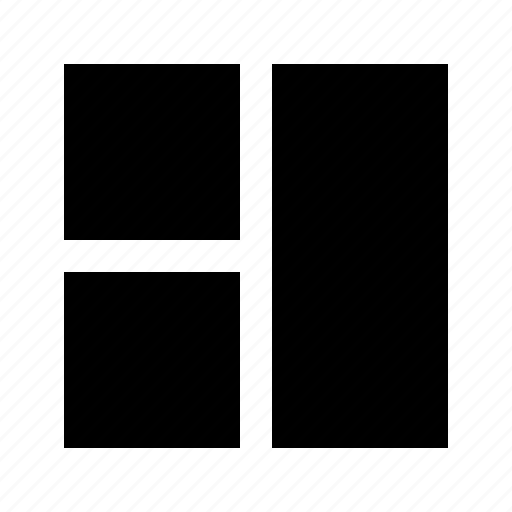 gallery, grid, gui, potfolio, various, web icon