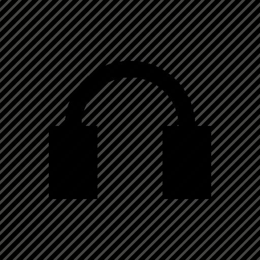 audio, gui, headphones, music, web icon