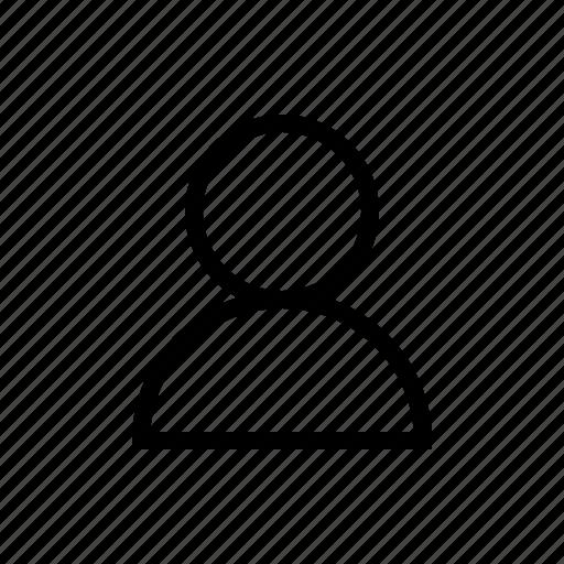 account, gui, profile, user, web icon