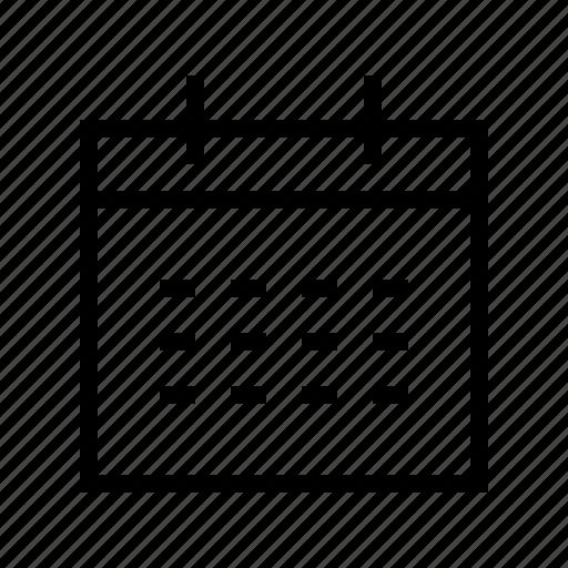 calendar, date, gui, schedule, web icon