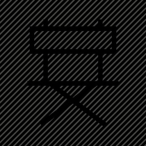 chair, director, film, gui, movie, web icon