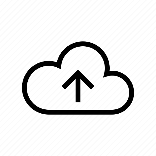 cloud, gui, network, transfers, upload, web icon