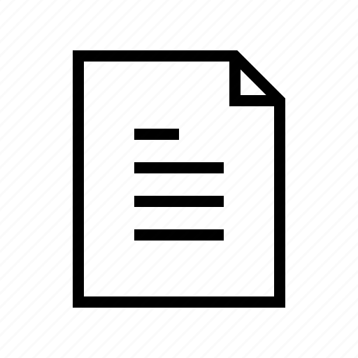 document, file, gui, text, web icon