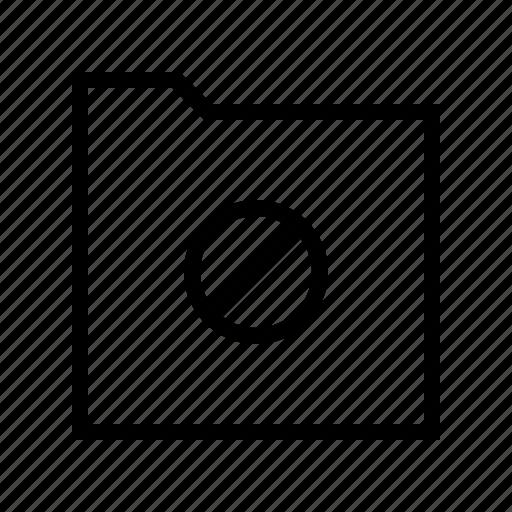 access, download, folder, gui, no, web icon