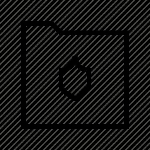 download, folder, gui, protect, web icon