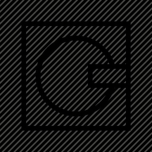 gui, media, minidisc, storage, web icon