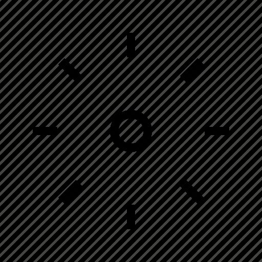 brighntess, darker, gui, light, sun, web icon